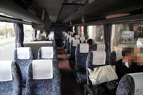 伊予鉄道「キララエクスプレス」 ・・95 車内