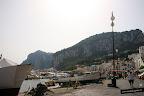Vista del puerto de Capri