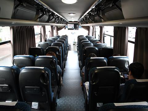 中国バス「広福ライナー」 G1106 車内 その2