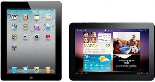 apple ipad 2 vs. samsung galaxy tab 10.1