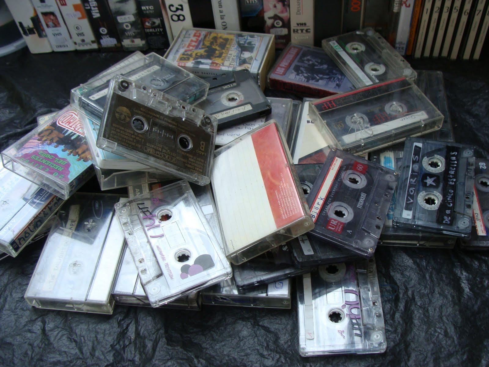 Venta de Garaje - Cassettes