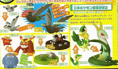 Pokemon Figure Zukan BW 2 TTA