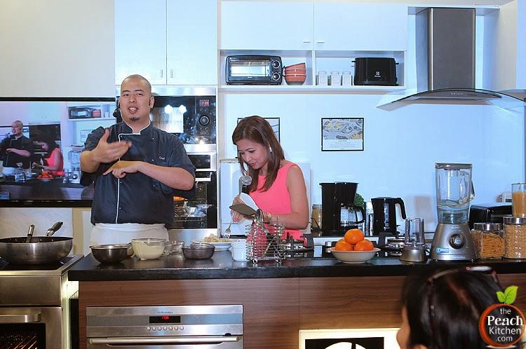 Delightful-E Yummy Creamy Adobo Pasta by Chef Bruce| www.thepeachkitchen.com