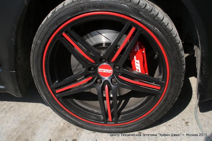 Установка тормозной системы JBT на Honda Accord
