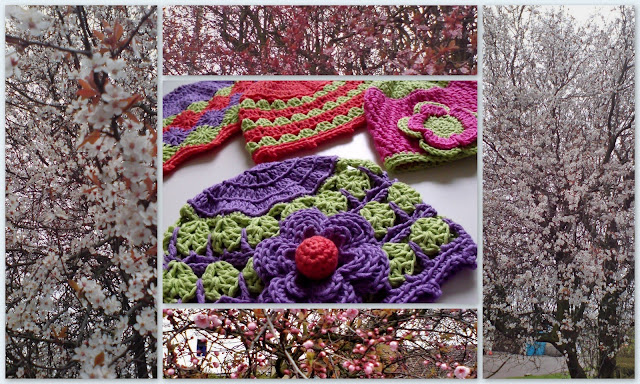 how to crochet, crochet patterns, baby hats, spring, flowers,