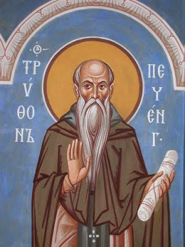 Venerable Tryphon The Abbot Of Pechenga Kolsk