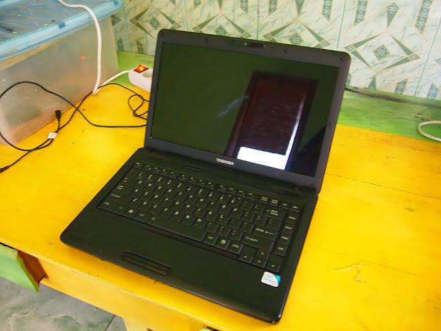 (JOGJA SAJA ) TOSHIBA L510 T4500 dual core