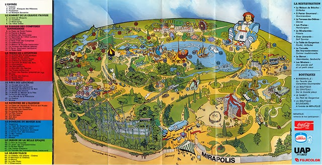 Plan Mirapolis 1991 verso