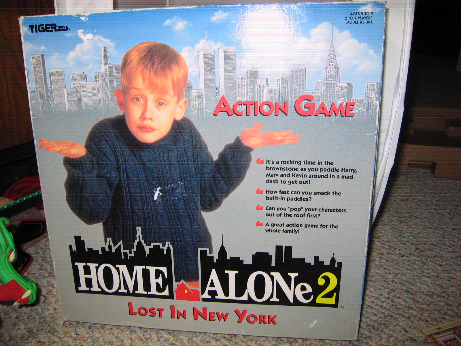 Gweenbrick Product Review 5 Home Alone 2 Action Game