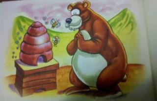 El oso y la colmena