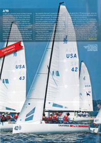 J/70 SAIL Magazine- Best Boats- Performance