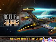 Battle of Galaxies apk mod full tiền, game bắn máy bay 3D cực đỉnh