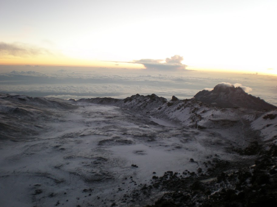 Kilimanjaro - Day 6 - Summit Day! - Inside the crater