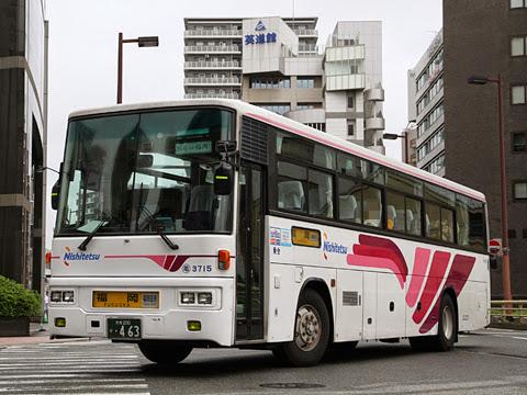 西日本鉄道「とよのくに号」別府系統 3715