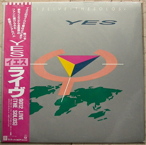 Yes - 9012 Live-the Solos/obi