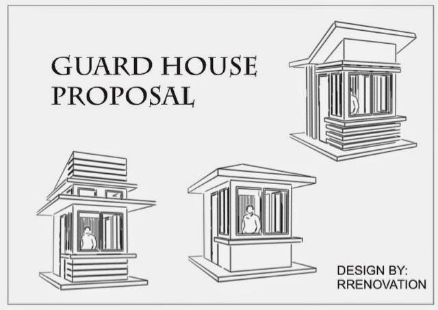 Modern guard house design House modern