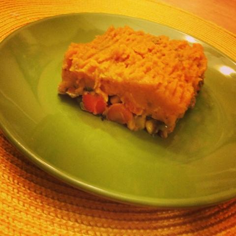 Don't Go to the Gym: Ground Turkey Sweet Potato Shepherd's Pie