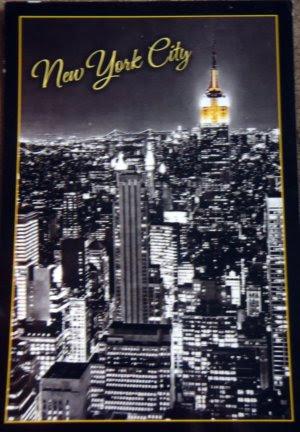 official postcrossing.com cards, postcards, New York,