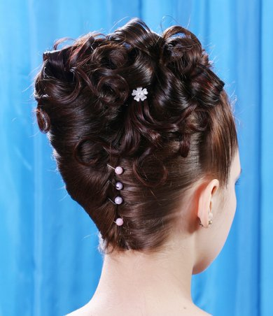 Hairstyles For Prom Long Curly Hair Formal Prom Hairstyle Samuel