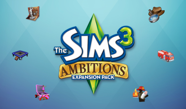 The Sims 3 Ambitions Icons