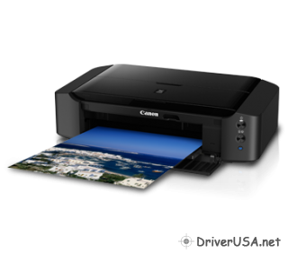 download Canon PIXMA iP8770 Inkjet printer's driver