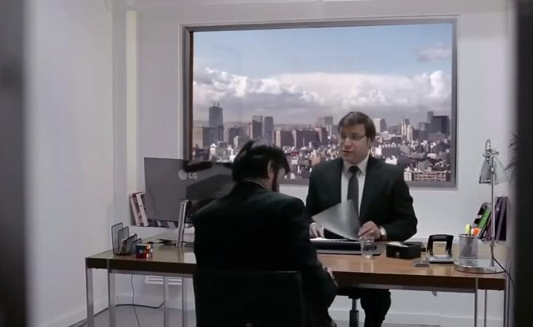 #面試遇到慧星撞地球?:LG ULTRA HD TV 廣告影片真實呈現! 2