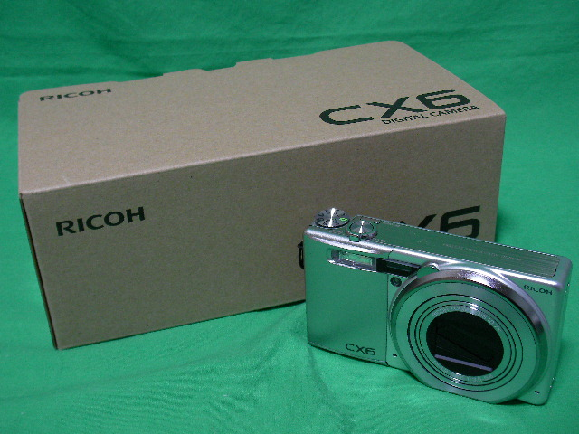 RICOH CX6購入