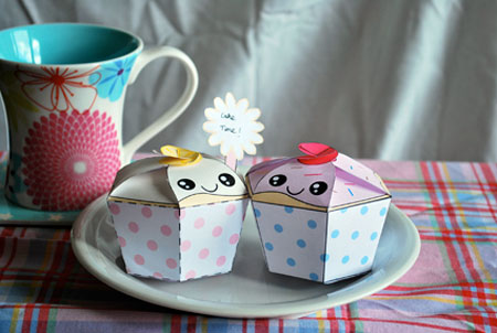 For My Cupcake Paper Toy
