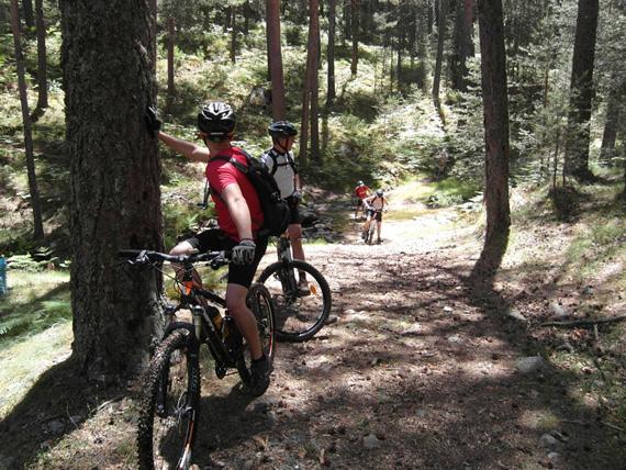 Ruta en bici de Cercedilla a Segovia, junio 2012