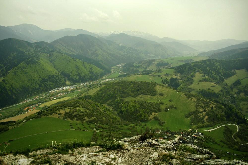 Panorama z Sidorovo