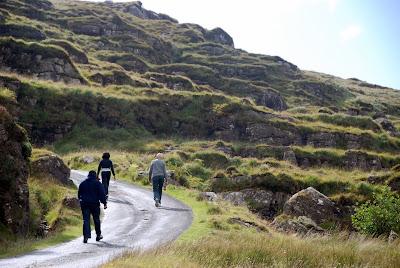Walking, Gap of Dunloe, Ireland