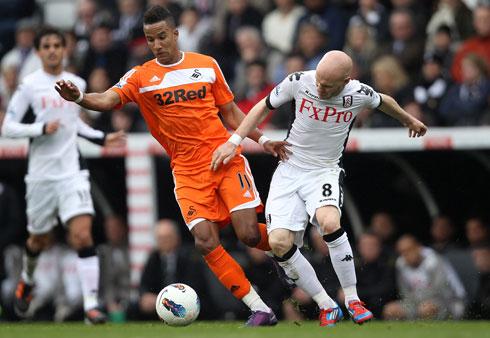 Scott Sinclair, Fulham - Swansea