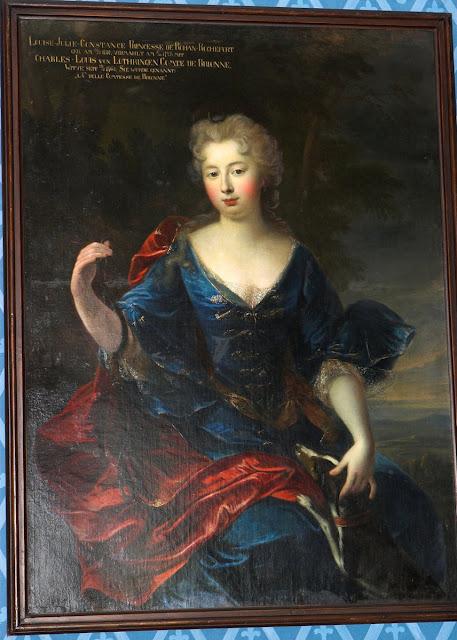Портрет Луизы-Юлии-Констанции де Роган Рошфор из замка Сихров