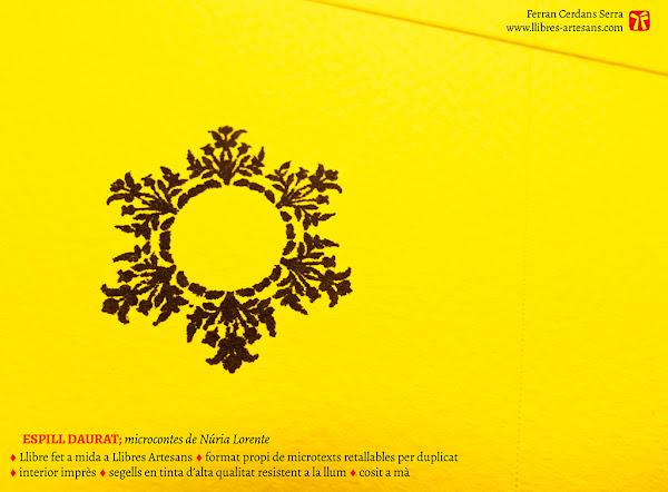 Cobertes del llibre amb segell Espill daurat