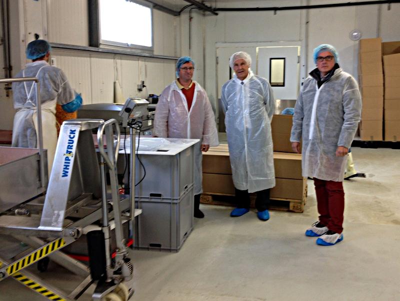 Visite de l'entreprise Ker Leg' le 14 octobre 2016 à Pontivy