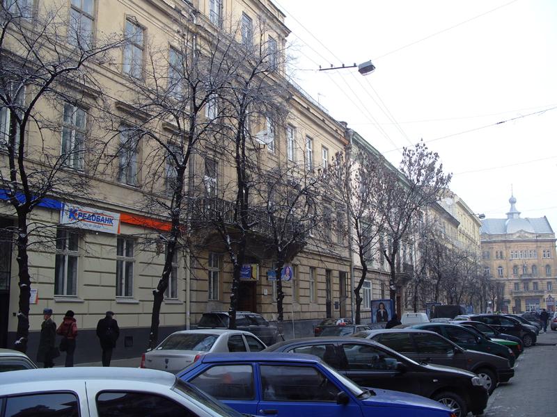 Львов. Улица Сичевых Стрельцов