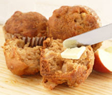 Sugar and Cinnamon Apple Muffins
