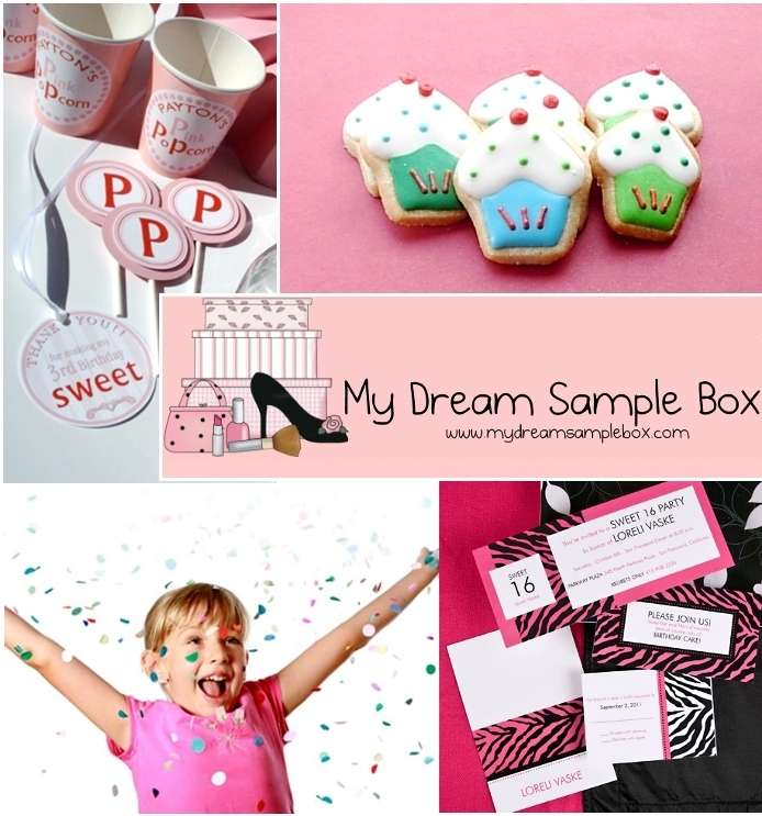 Giveaway | Party Sample Box to 2 Lucky Winners