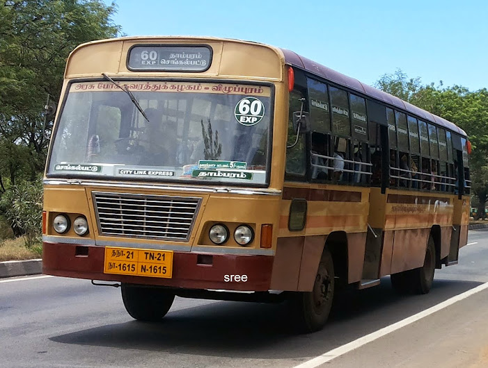 TN 21N 1615 City Line Express