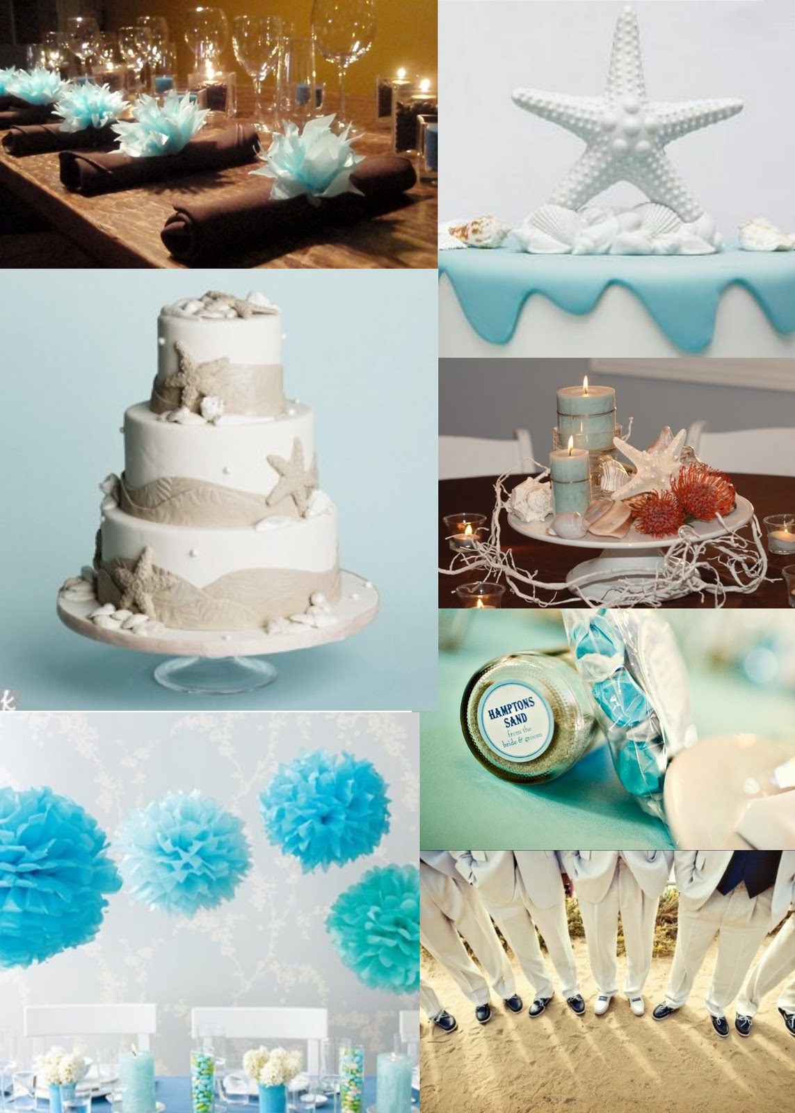 Swanky Paper Blog Beach Theme Wedding