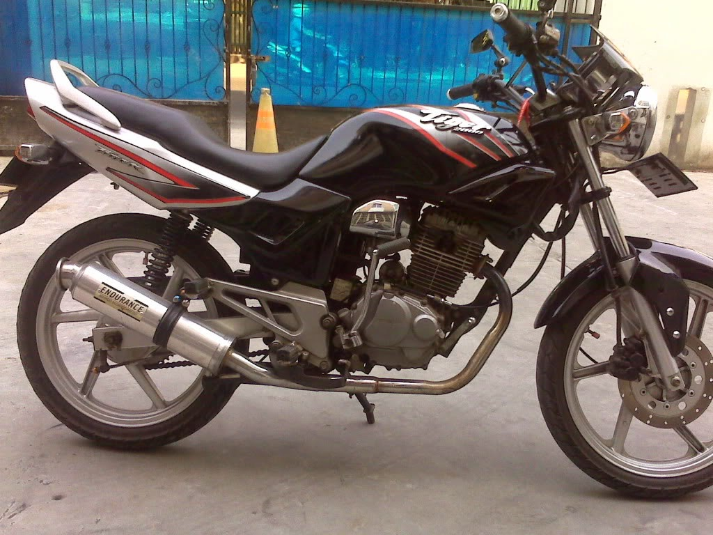 Honda Tiger 2000 Modifikasi Touring