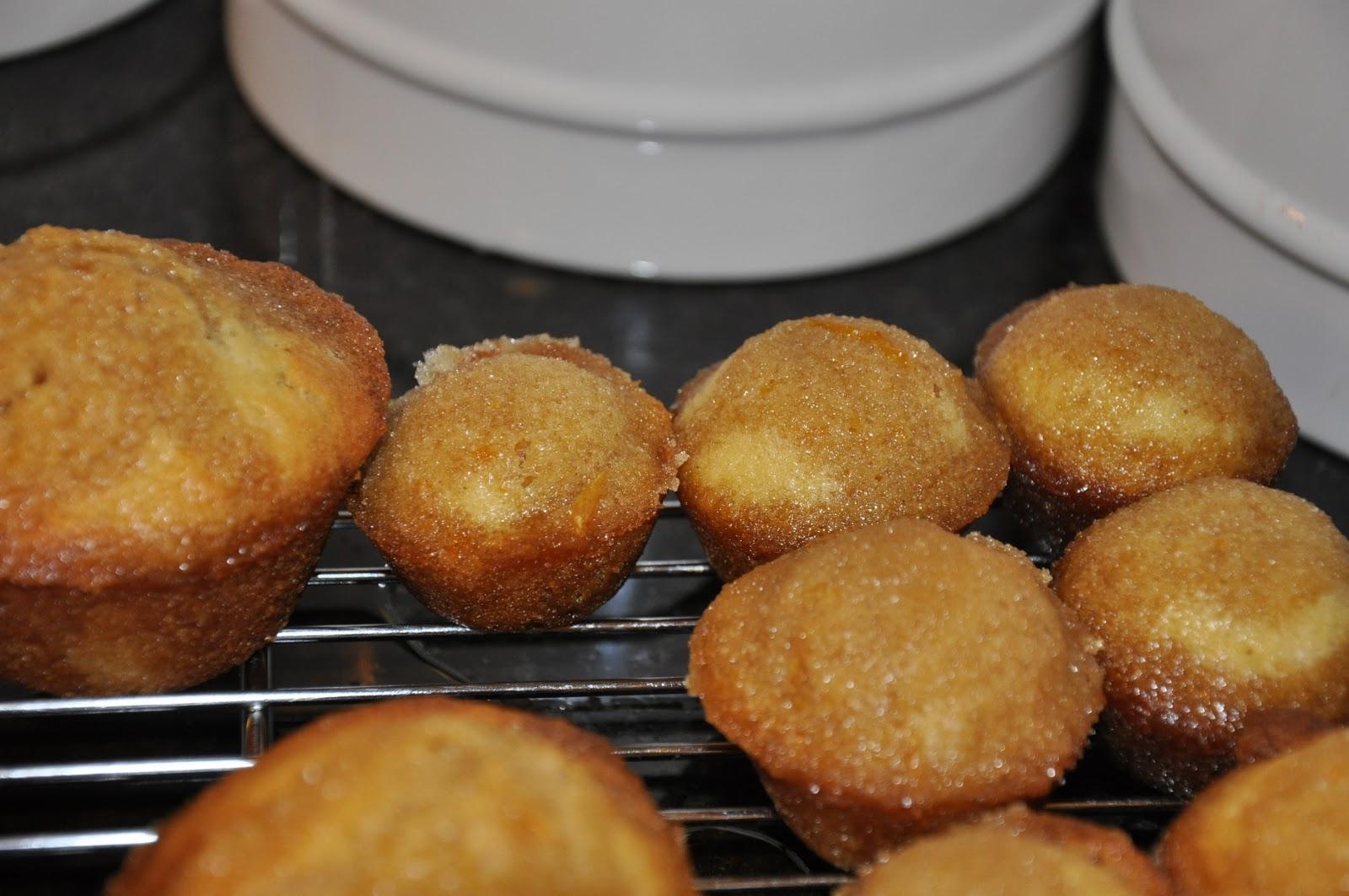 Elizabeth Ann's Recipe Box: Orange Mini Muffins with Brown ...
