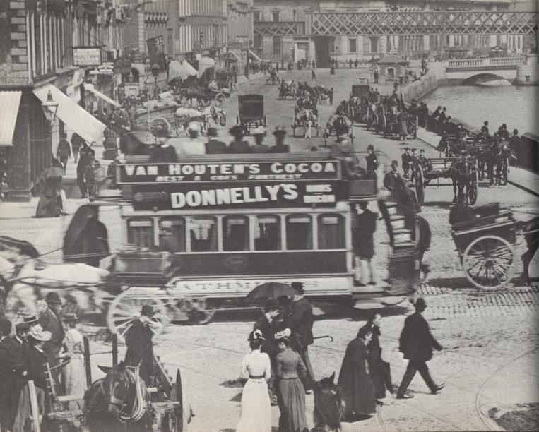 Eden Quay Dublin 1897