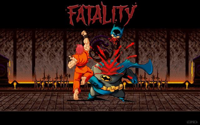 Les créations autour du jeu vidéo - Page 2 Fatality