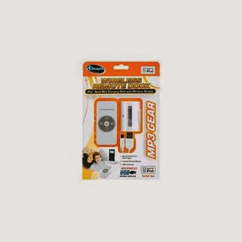 Sakar 23088CIP Ipod Nano Mini Charging Dock With Wireless Remote