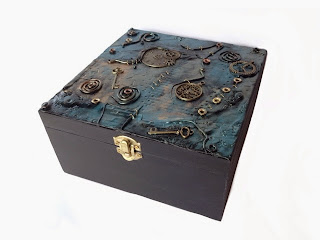 Steampunk box by Felicianation on Zibbet