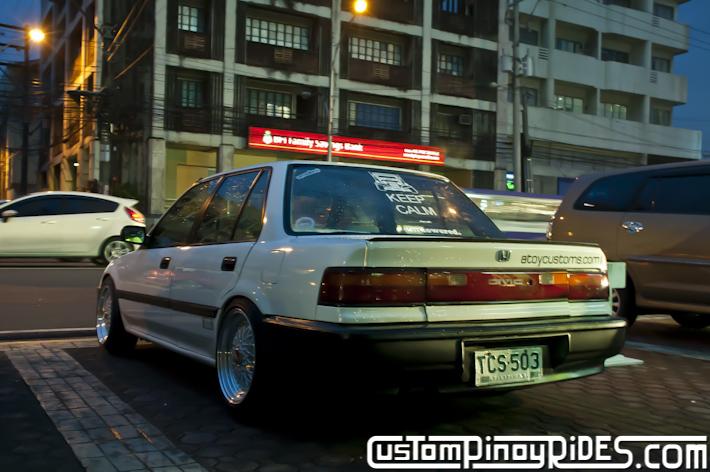 Ton Llave Atoy Customs Stanced Honda Civic EF Sedan Custom Pinoy Rides Pic3