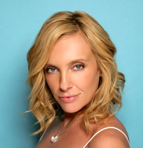 toni collette in her shoes. remembered her name.