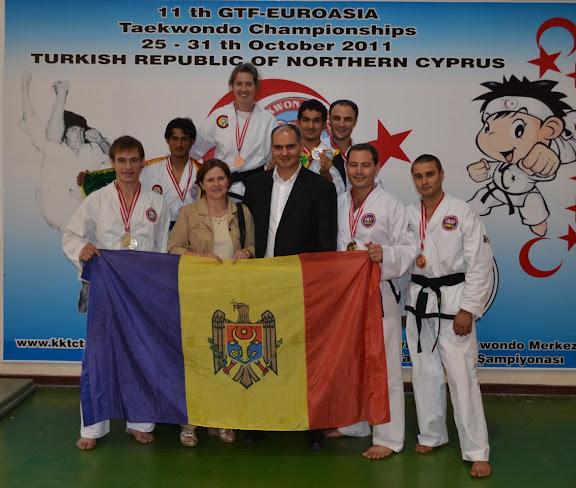 Echipa Stolas Leukas la Campionatul Euro-Asiatic din Cipru 2011