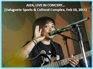 Aiza, Live in Dalaguete